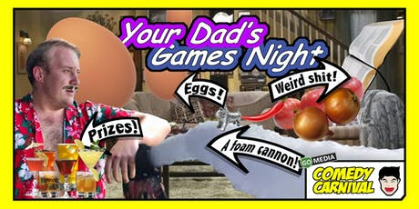 Your Dad's Games Night tickets