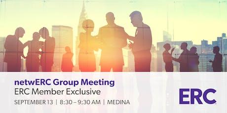 netwERC Groups 2019 - Members Only HR Peer Group - Medina tickets