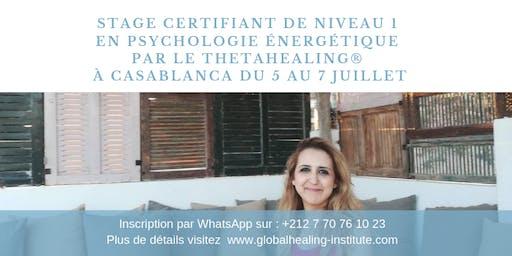 Formation Certifiante en Psychologie Énergétique ThetaHealing_Niv1_4400 dhs