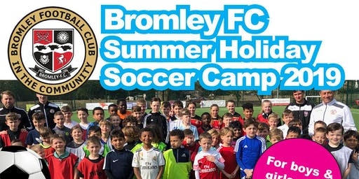 Summer Holiday Soccer Camp 2019 - Week 1