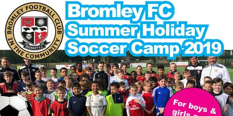 Summer Holiday Soccer Camp 2019 - Week 4 tickets