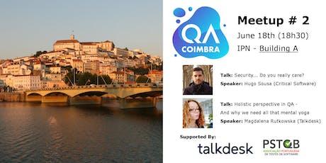QA Coimbra #2 bilhetes