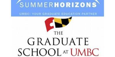 2019 Summer Horizons Program @ UMBC