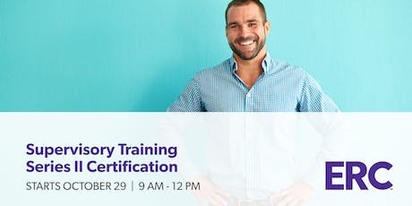 Supervisory Training Series II Certification: Morning Program tickets