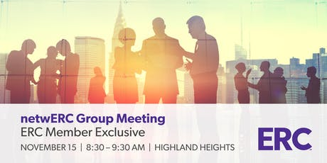 netwERC Groups 2019 - Members Only HR Peer Group - ERC tickets