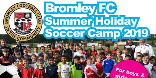 Summer Holiday Soccer Camp 2019 - Week 3