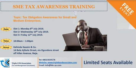 Tax Obligation Awareness for Small and Medium Enterprises tickets