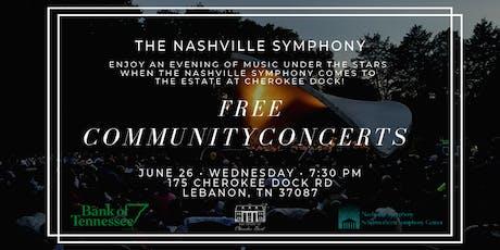 Community Sponsor Early Access - Nashville Symphony Community Concert tickets