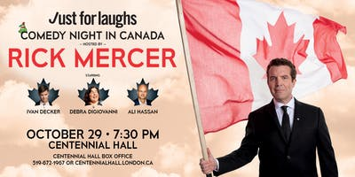 Just For Laughs Comedy Night in Canada - Hosted by Rick Mercer