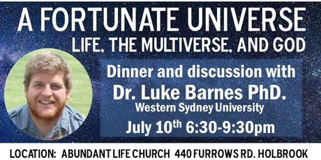 A Fortunate Universe tickets