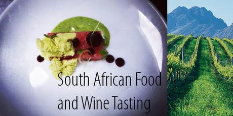 South African Food and Wine Tasting  tickets