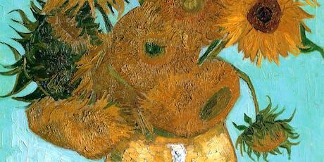 Paint like Van Gogh + Wine! London Bridge, Afternoon, Saturday 10 August tickets