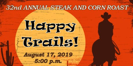 32nd Annual Steak and Corn Roast 2019 with Devin Scillian tickets