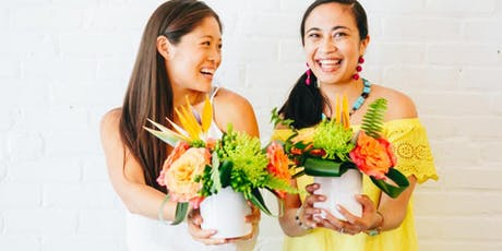 Create your Tropical Centerpiece with Swoozie's Charlotte tickets