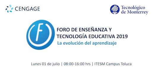 Foro de Enseñanza y Tecnología Educativa ITESM Toluca