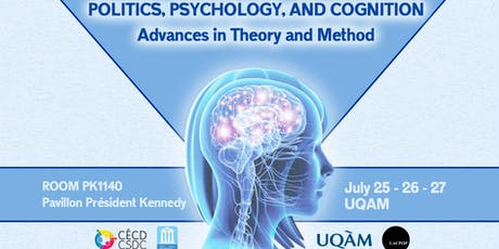 [Conference] Politics, Physiology, and Cognition: Advances in Theory and Method billets