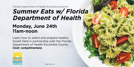 Summer Eats w/ Florida Department of Health-Escambia tickets