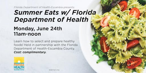 Summer Eats w/ Florida Department of Health-Escambia
