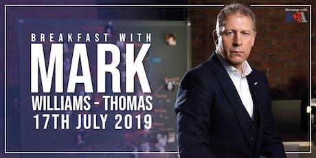Breakfast with ... British crime investigator, Mark Williams-Thomas tickets
