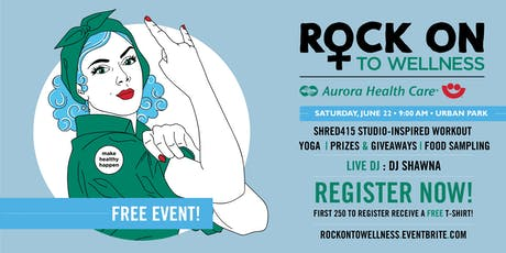 Rock On to Wellness 2019 tickets