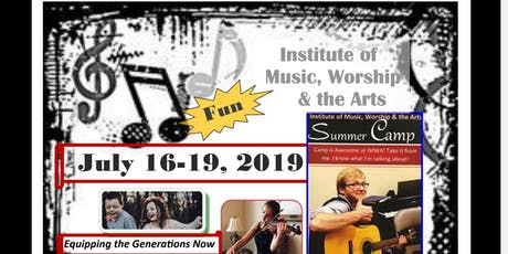 Music,Worship & the Arts Camp 2019 tickets