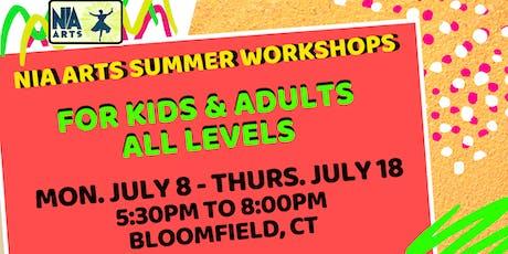 Summer Dance & Drum Workshops tickets