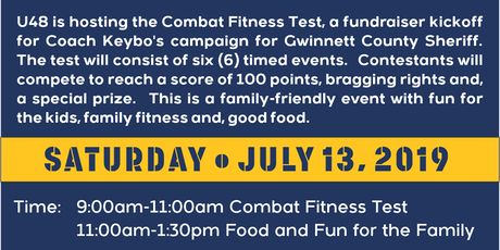 U48 Fitness is Hosting a Fundraiser Event for Coach Keybo  tickets