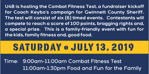 U48 Fitness is Hosting a Fundraiser Event for Coach Keybo