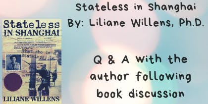 'Books and Boba' Book Club - Stateless in Shanghai (June 2019)
