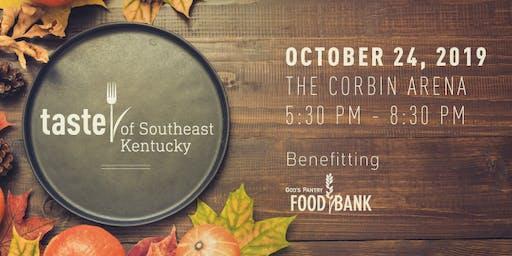 Taste of Southeast Kentucky - VENDOR REGISTRATION