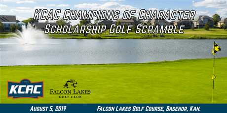 Fourth Annual KCAC Champions of Character Scholarship Golf Scramble tickets