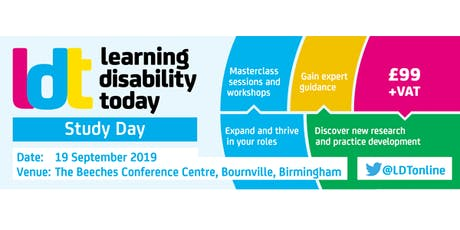 Learning Disability Today Study Day tickets