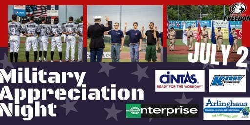 Florence Freedom Military Appreciation Night 2019