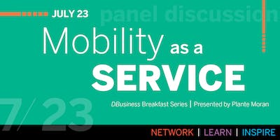 DBusiness Breakfast Series: Mobility as a Service