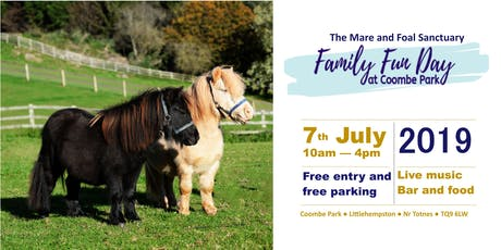 Mare and Foal Sanctuary Family Fun Day tickets