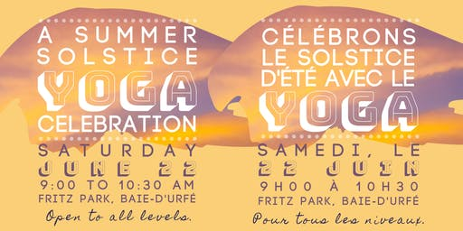 A Summer Solstice Yoga Celebration