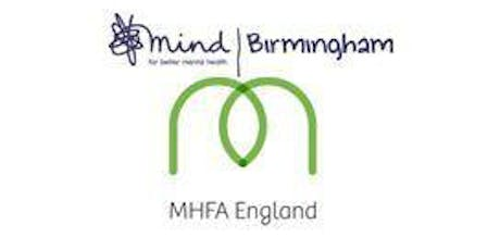 MHFA One Day ADULT Course - Mon 5th August 2019 tickets