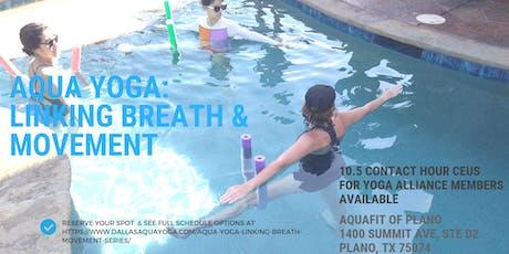 Aqua Yoga: Linking Breath and Movement tickets