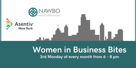 Women in Business Bites - Monthly tickets