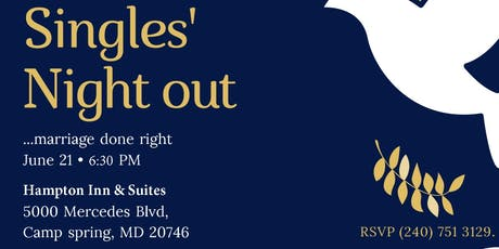 Singles' Night Out tickets