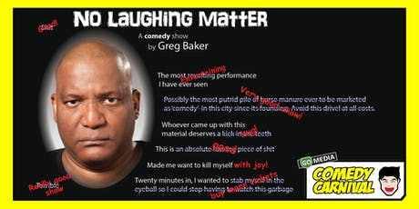 No Laughing Matter tickets