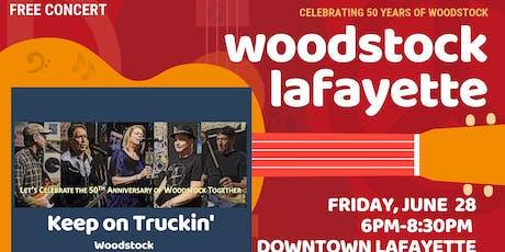 Woodstock Lafayette #4 - Keep On Truckin' - Free Family-Friendly Concert tickets