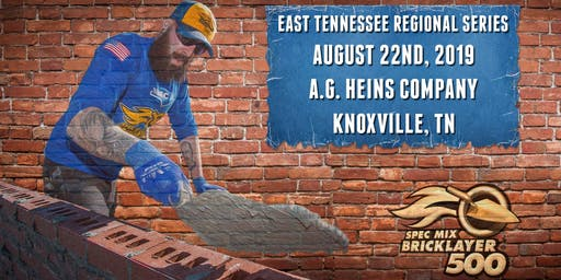 SPEC MIX BRICKLAYER 500® East Tennessee Regional Series