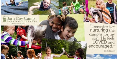 Bring A Friend Open House at the Barn Day Camp