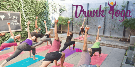DRUNK YOGA® at Row NYC...FREE Wine! Saturdays in Midtown tickets