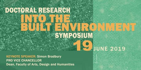 Doctoral Research Into the Built Environment Symposium tickets