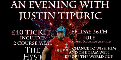 An Evening With Justin Tipuric - Featuring Comedian Lenny Dee