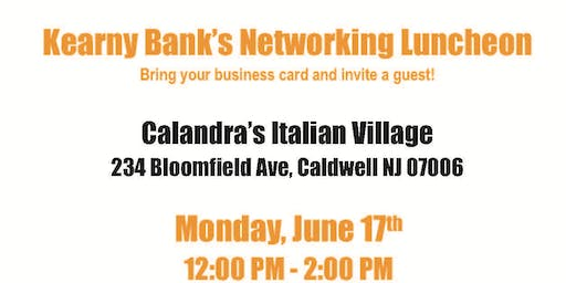 Kearny Bank Business Networking Event