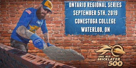 SPEC MIX BRICKLAYER 500® Ontario Regional Series tickets