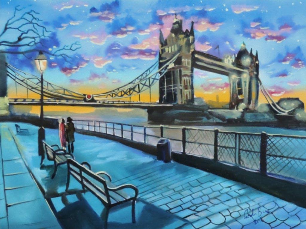 Paint London! Canary Wharf, Friday 2 August